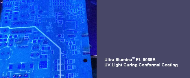 UV Light Curing Conformal Coatings for Electronic Component and Assembly