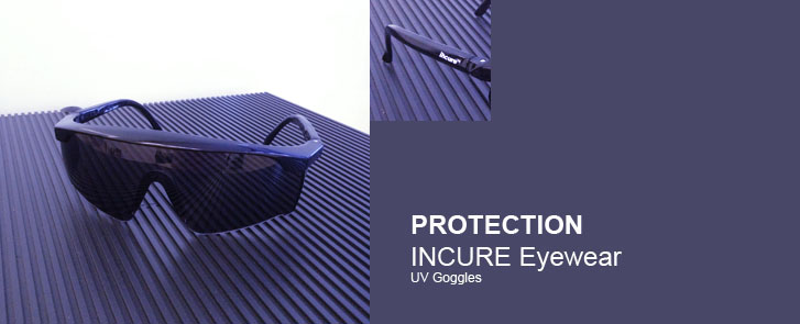 Eye Protection  for use with UV Light Curing Systems